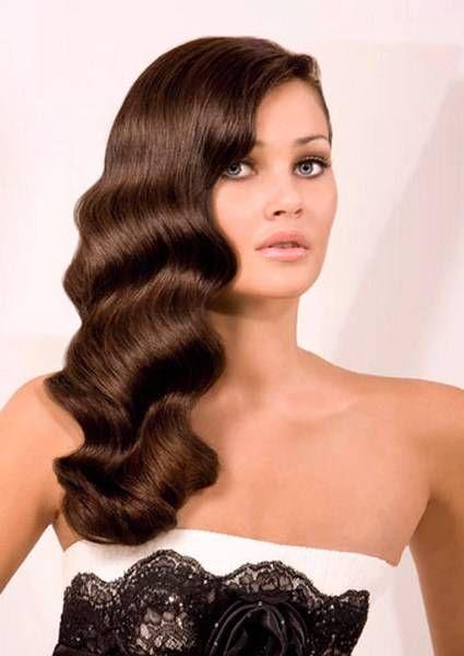 Pelo Suelto Hacia Un Lado Peinados De Moda Peinados De Novia Mama