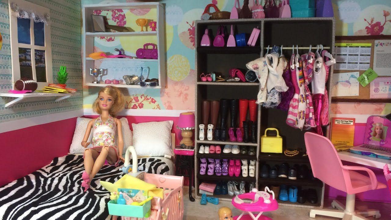 Tour Casa De Barbie Barbie Doll House Tour Casa De Barbie