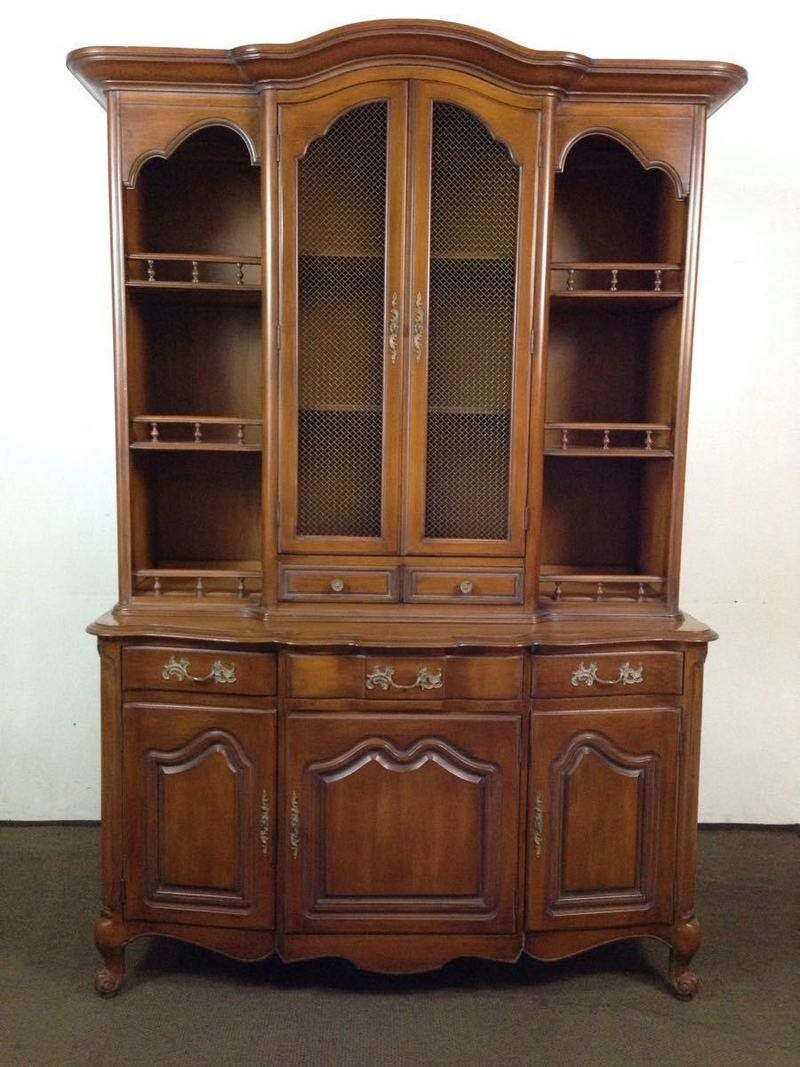 vintage furniture manufacturers. I Just Found This Vintage White Furniture Company French Provincial Style Carved Oak Hutch For $150 On #Trove! Check It Out: Manufacturers