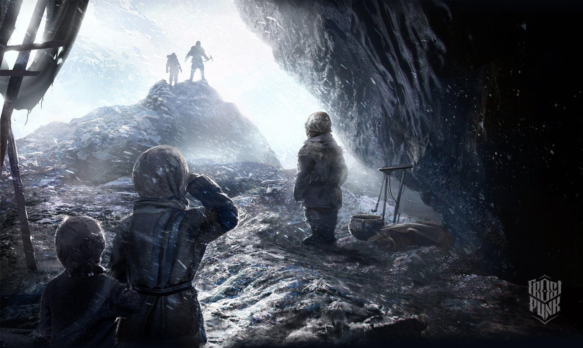 Frostpunk Video Games Video Game Art Games Art Snow Artwork 1080p Wallpaper Hdwallpaper Desktop