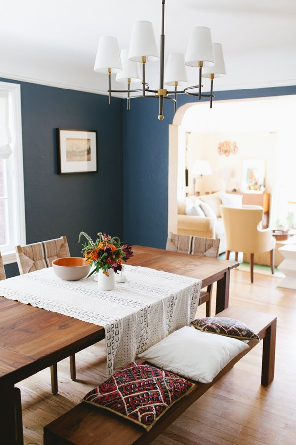 One Room Challenge The Reveal Coco Kelley Dining Room Paint Colors Dining Room Colors Dining Room Blue