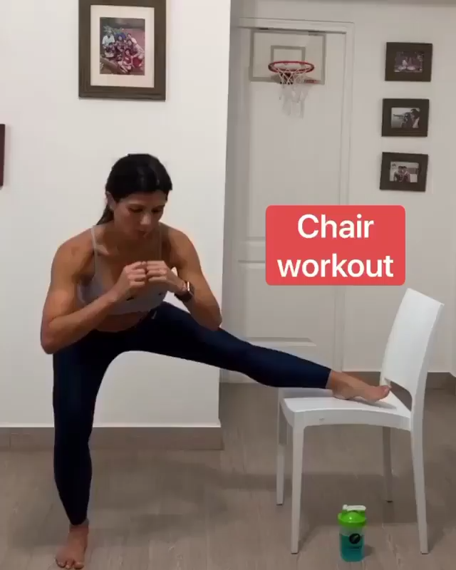 CHAIR WORKOUT AT HOME