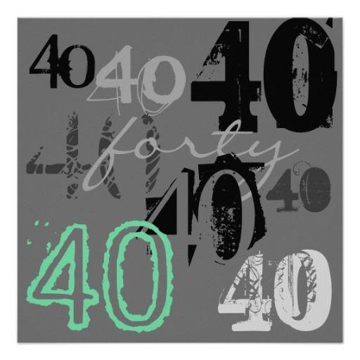 40. Geburtstags-Party Einladungen | Party einladung