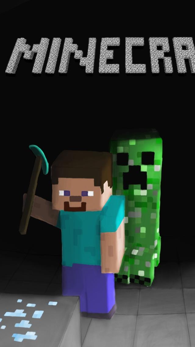 Download Minecraft Iphone Background 1 640x1136