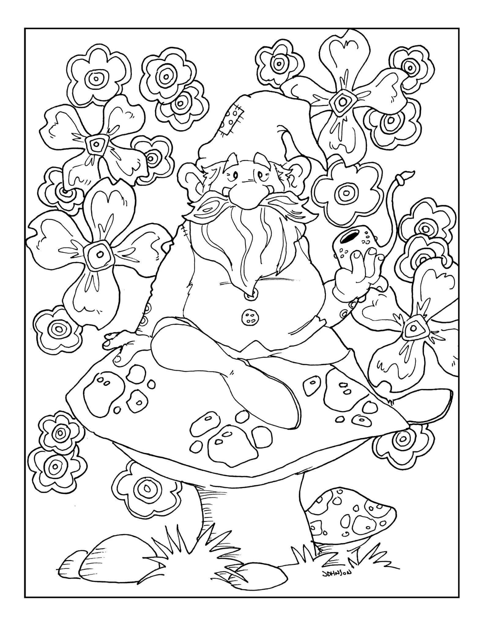 Pin by katmoon on Hippie love and peace Garden coloring