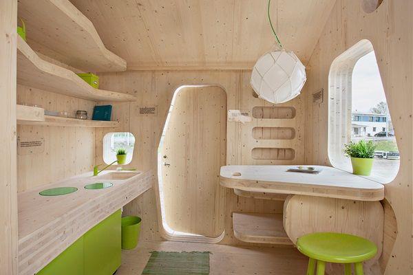Kollégiumi szoba helyett: 10 négyzetméteres faház diákoknak   Életszépítők