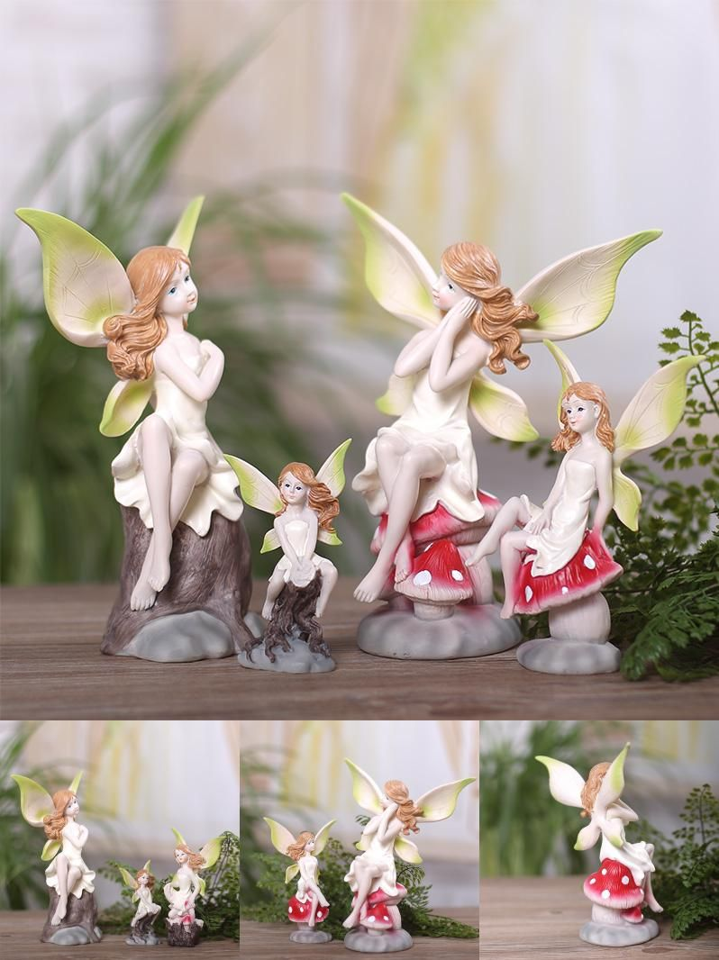Wedding decorations accessories  Visit to Buy Angel Flower Fairy ornaments wedding gifts home