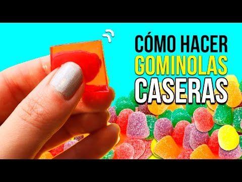 Cómo hacer GOMITAS CASERAS muy fácil * RECETA de gominolas DIY - YouTube