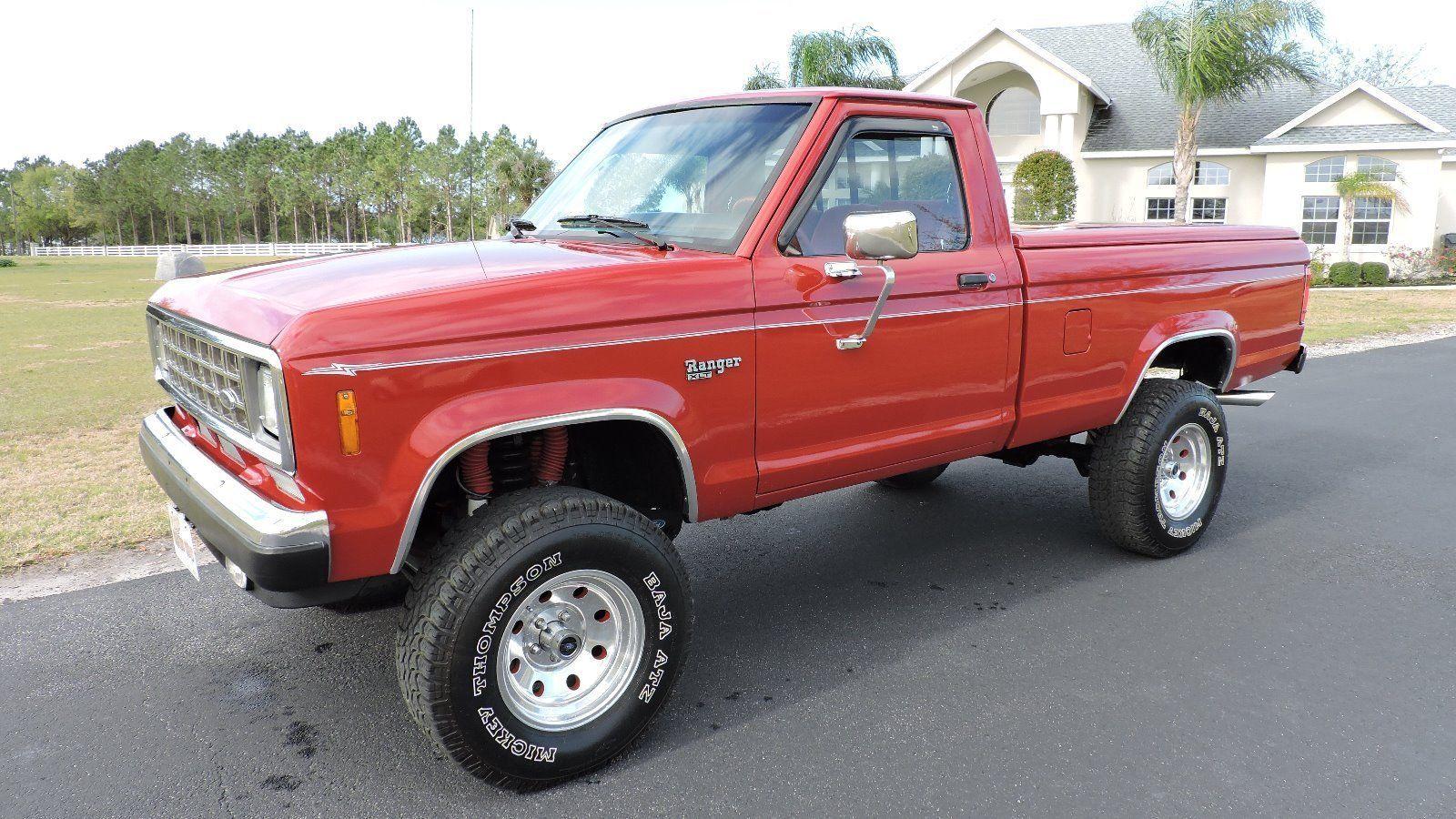 1988 Ford Ranger Xlt 4 4 Lwb V8 Show Truck For Sale Ford Ranger