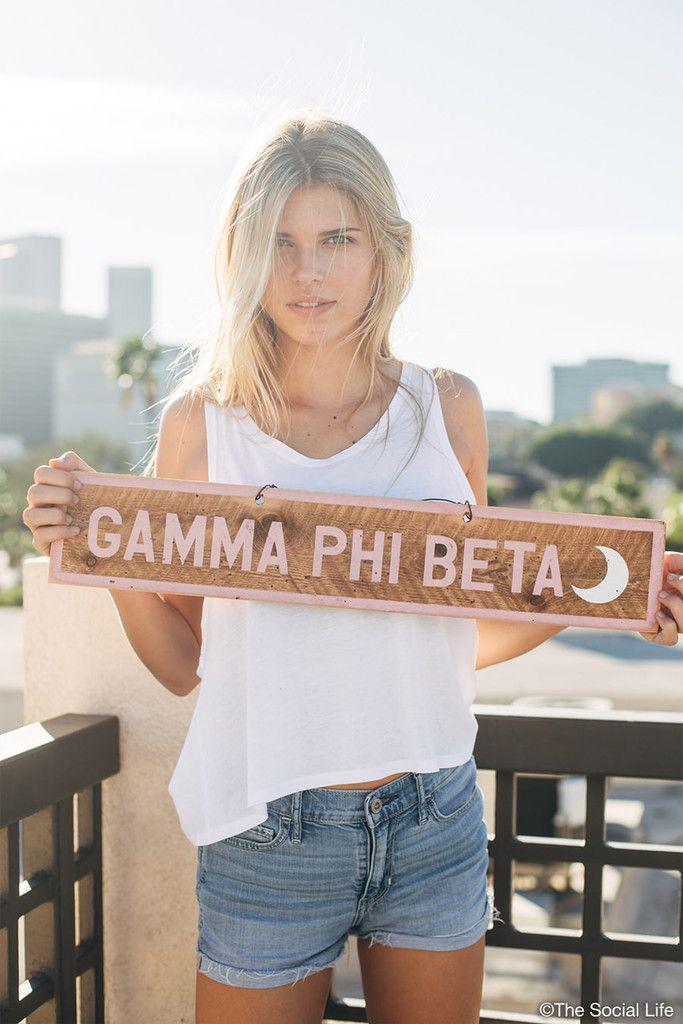 Gamma Phi Beta Vintage Signs