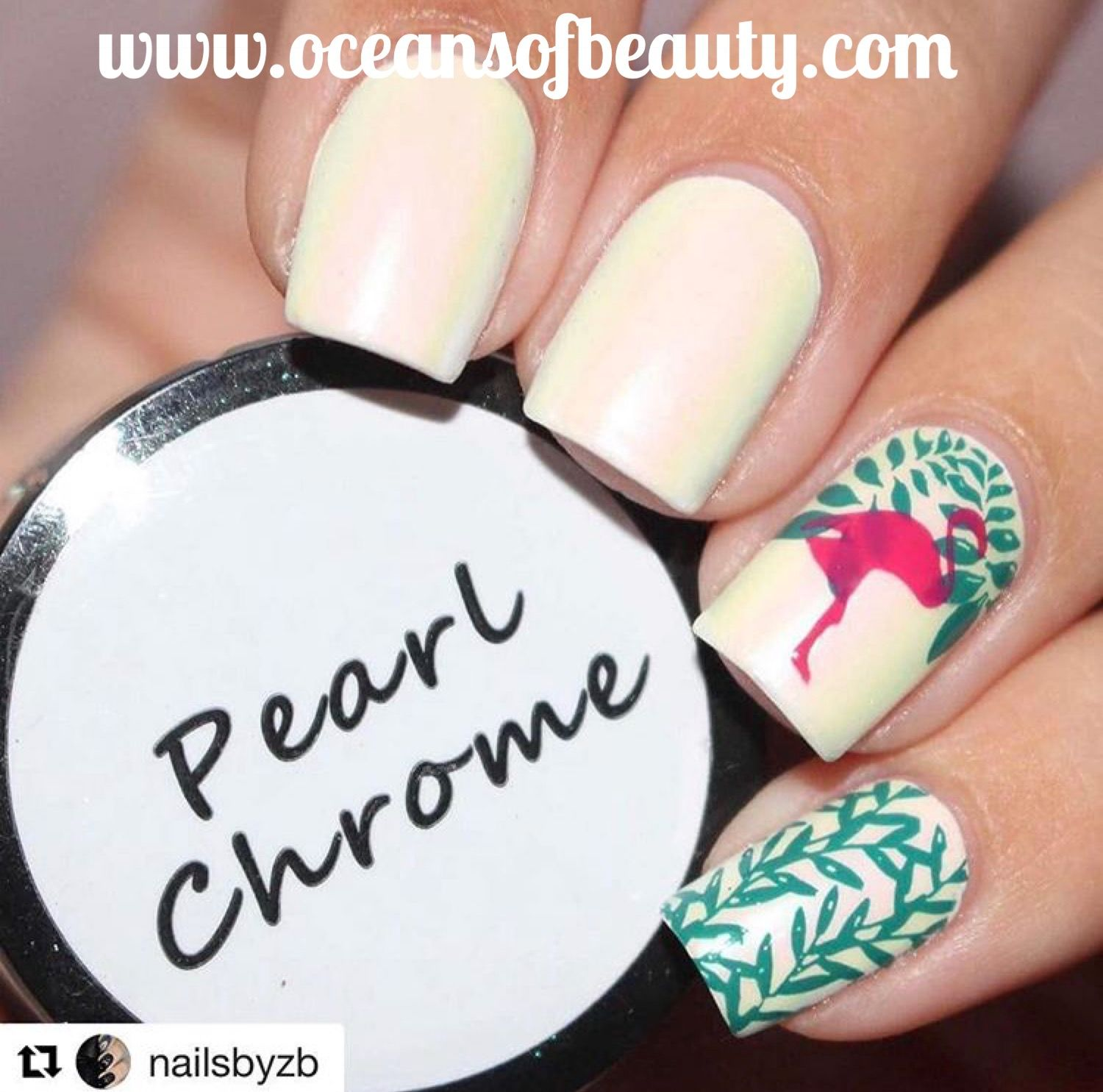 How To Chrome Nails At Home - Best Nail Design 2018