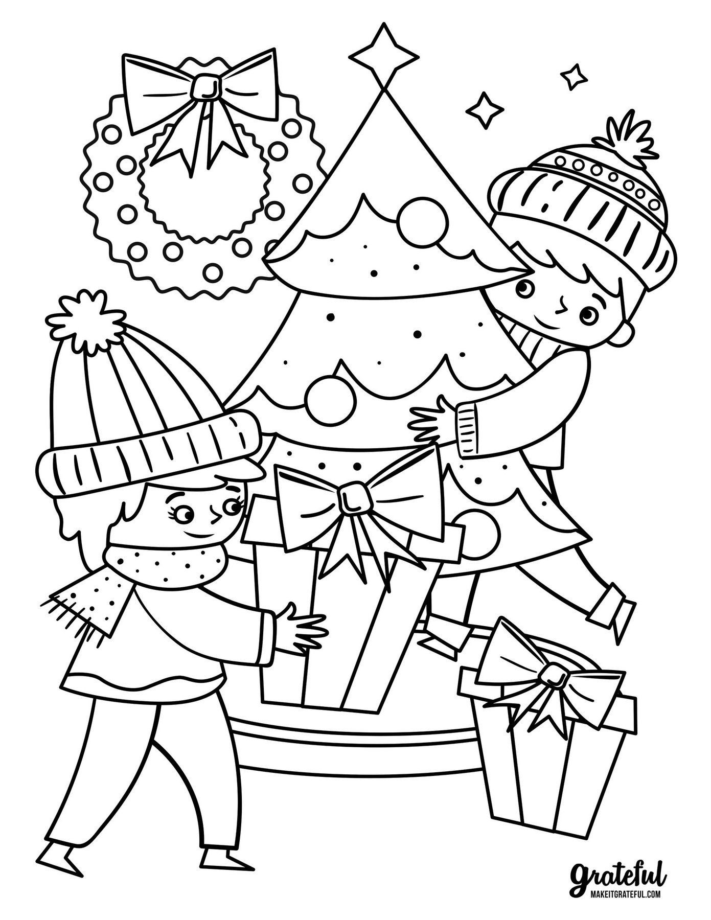 Christmas Coloring Pages for Kids Coloring Pages Coloring ...