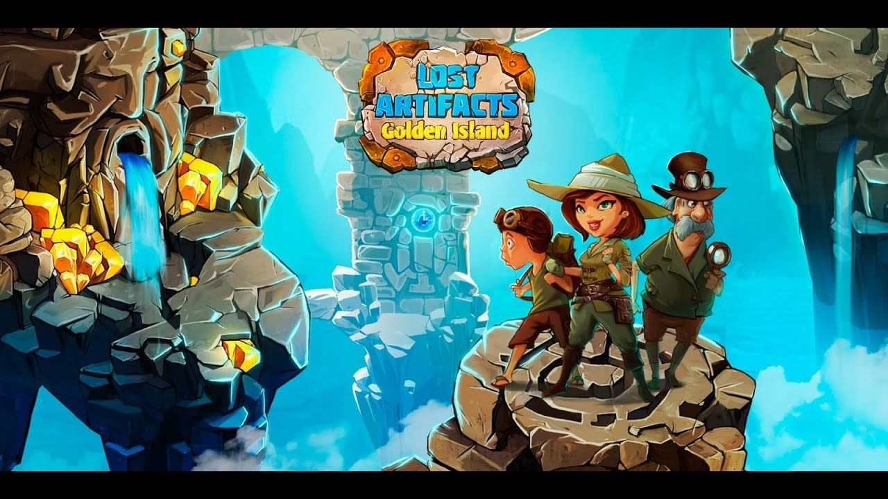 Lost Artifacts 2 Golden island android game first look