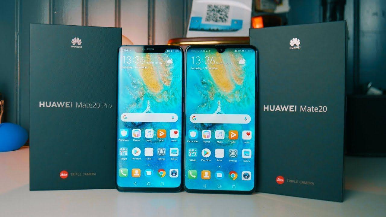 Huawei Mate 20 / Mate 20 Pro : Unboxing et Prise en Main