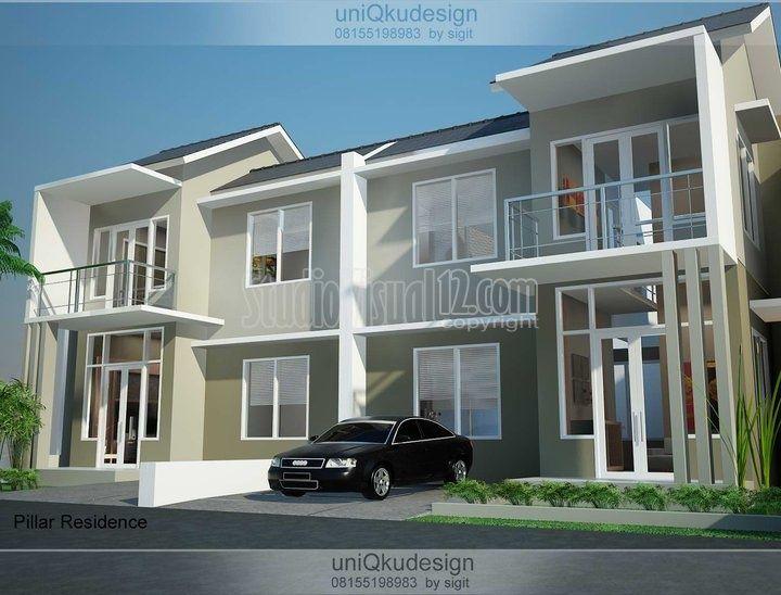 970 Gambar Rumah Tampak Depan Bertingkat HD Terbaru