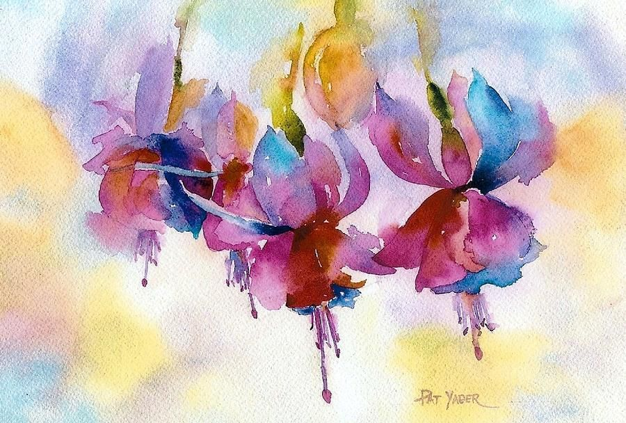 Pat Yager   WATERCOLOR