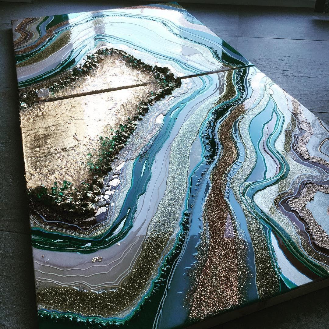 Pin By Ricki Smartt On Pouring Paint Acrylic Art Art
