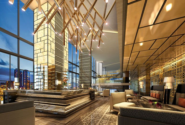 Related image (With images) Hotel lobby design
