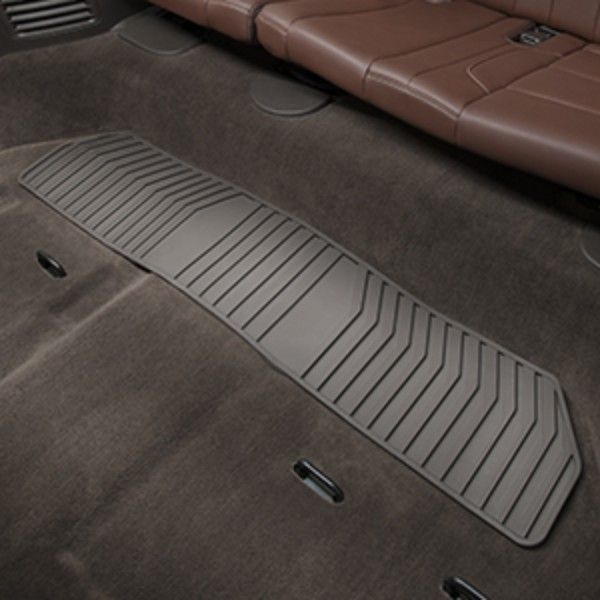 2015 Suburban Floor Mats Premium All Weather Third Row Cocoa
