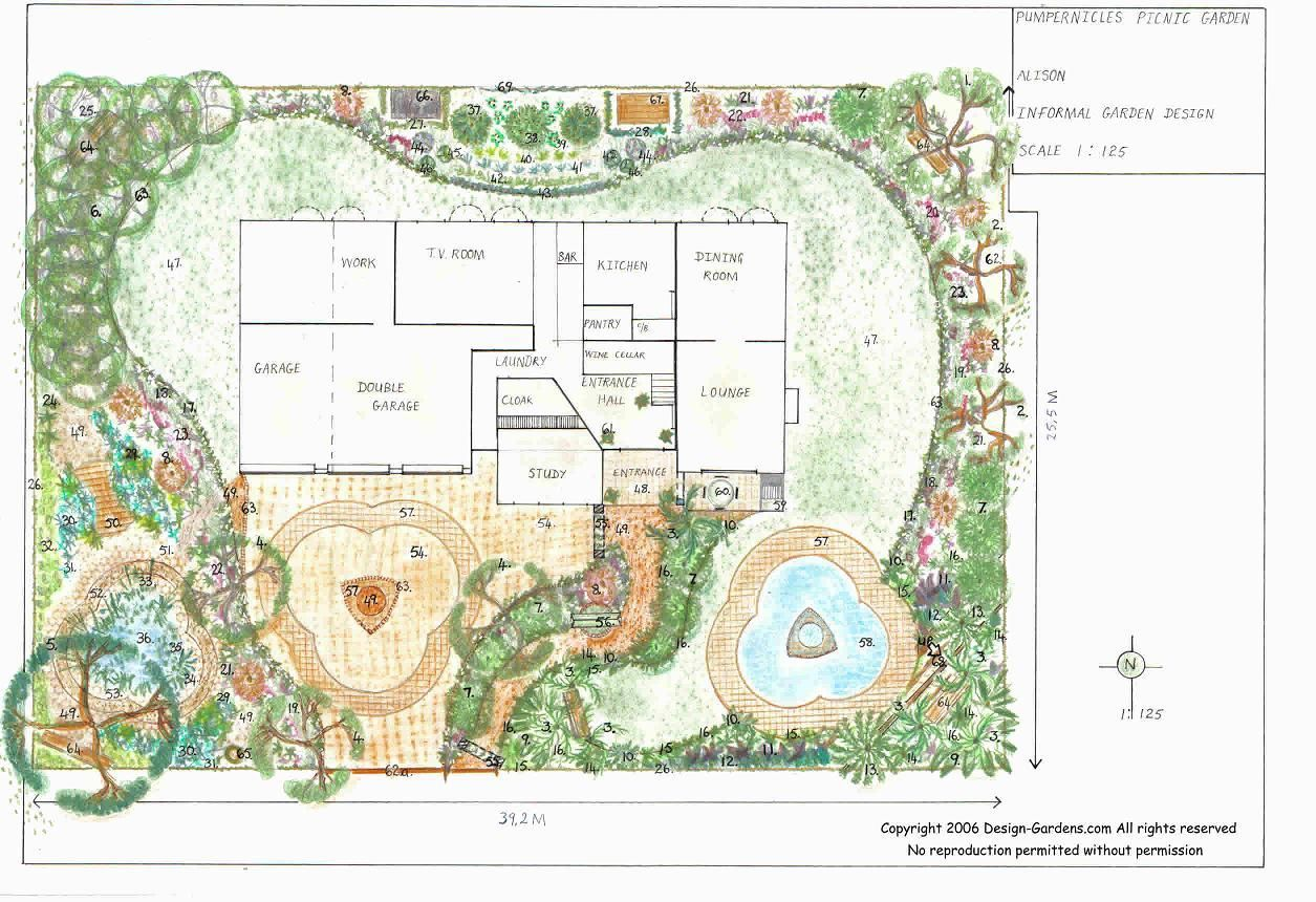 Landscape Design Drawing Software - thorplc.com | Free ...