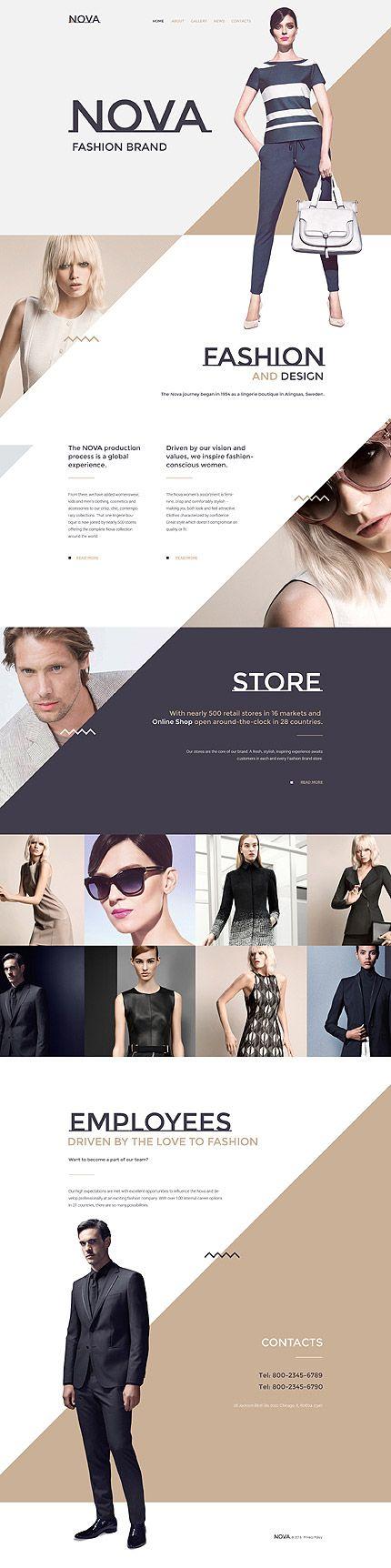 template 57697 nova fashion responsive website template