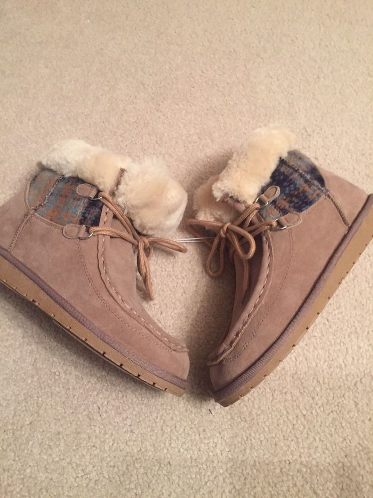 91bc9850a7 NEW RAMPAGE Westcott Women Tan Suede Ankle Faux Fur Winter Boots Shoes Size  8  fashion  clothing  shoes  accessories  womensshoes  boots (ebay link)