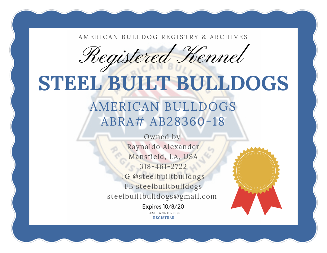 Abra Registered Kennels Abra American Bulldog Registry Archives American Bulldog American Bulldog Breeders Dog Kennel Cover