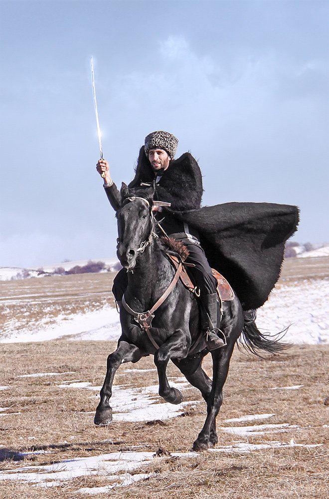 желание картинки джигитов на коне райское место вышел