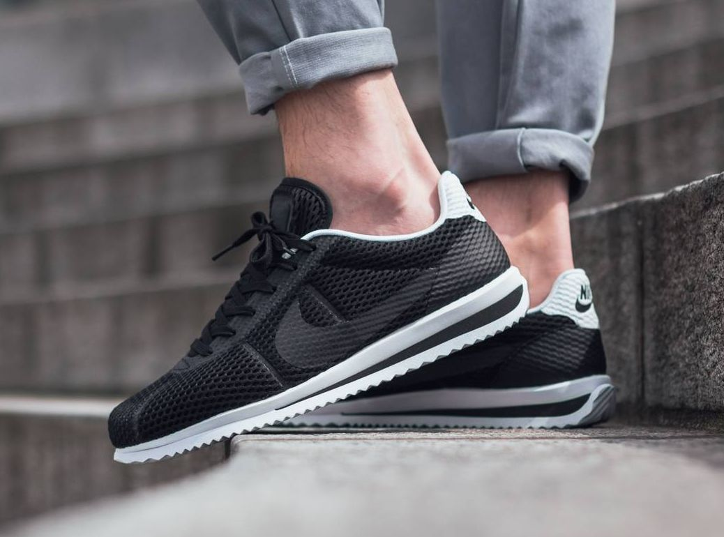 b6351fd535ea Basket Nike Cortez Ultra BR Breathe Black (2)