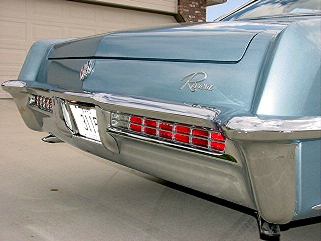 65 Riv Tail Lights One Year Only Buick Riviera Buick 1965 Buick Riviera