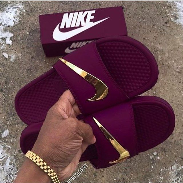 e340de370c38 Velvet Nike slides  KortenStEiN