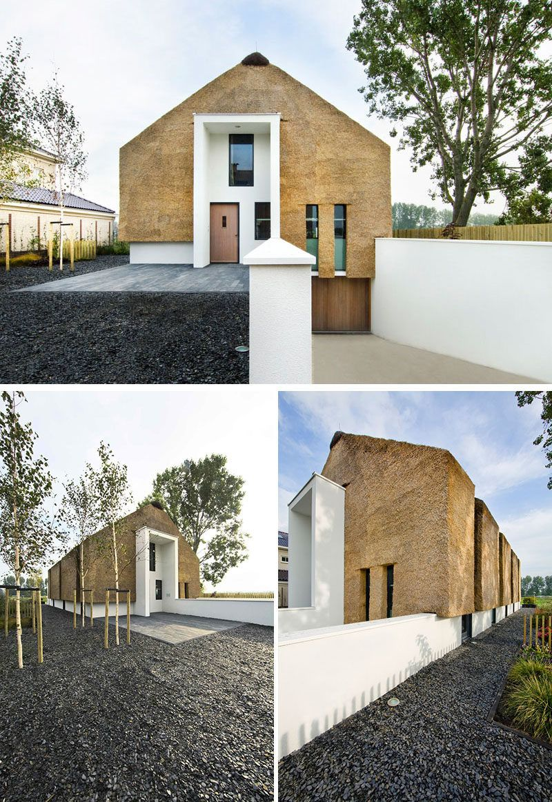 Modern Architecture Roof 12 examples of modern houses and buildings that have a thatched