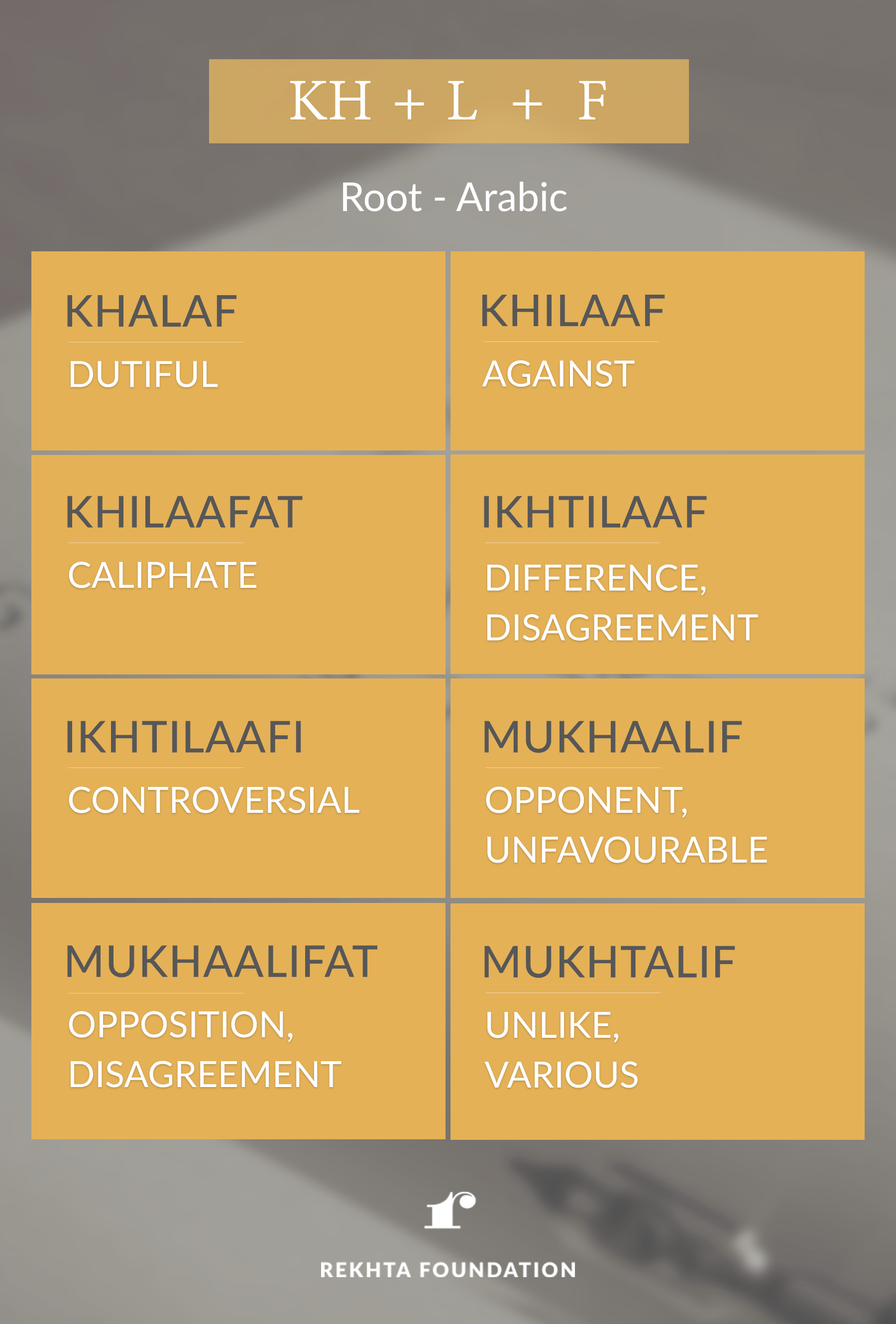 Discover The Roots Of Various Urdu Words And Strengthen