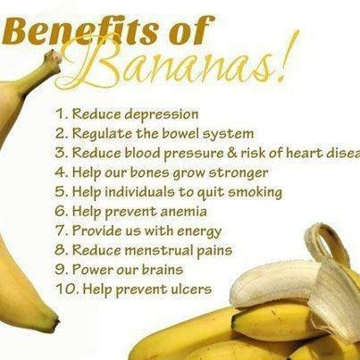 benefits of banana! #fruits #smoothies #tasty #banana #fit #healthy #cleancook #cleaneating #snack #eattogrow #absaremadeinthekitchen #fit #fitfood #fitwomencook #bodybuilding