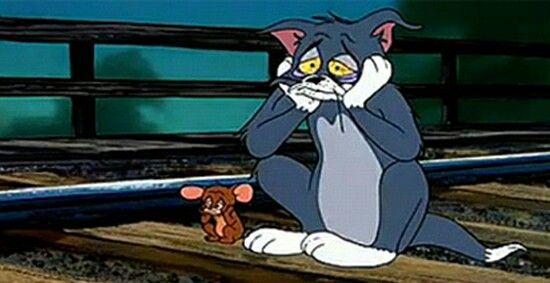 Tristeza Compartida Dibujos Tristes Dibujos Animados Tom Y Jerry Dibujos Significativos