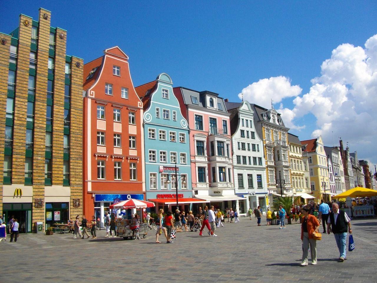 #Rostock, Mecklenburg-Vorpommern, Northeastern Germany http://www.rostock.de/en/tourism/