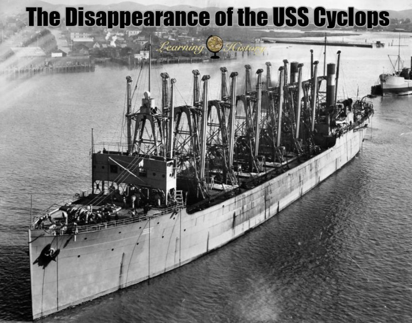 The Disappearance of the USS Cyclops | via @learninghistory | Mysterious  universe, Cyclops, Military history