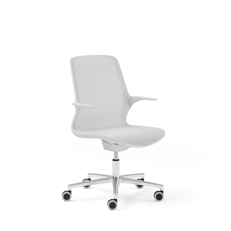 OVIDIO KIT 246 AW OVIDIO Task highline White task chair mesh