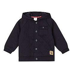 23a1de66a J by Jasper Conran - Designer babies navy quilted jacket