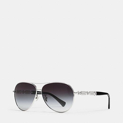 COACH Designer Sunglasses   Hangtag Chain Sunglasses