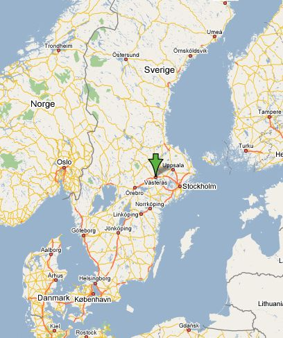 Facts About The Power Big Meet Its Held In Vasteras Sweden - Sweden map facts