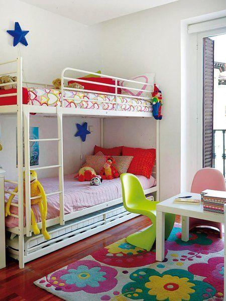 Los cuartos infantiles m s trendy litera ikea y - Ikea habitaciones infantiles literas ...
