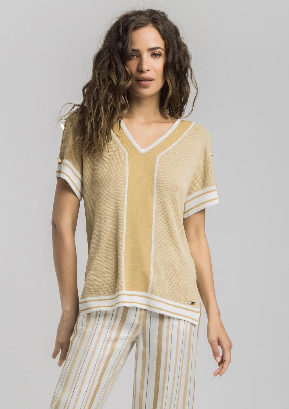 Top de punto de Alba Conde #fashion #brand #inspiration #inspo #outfit #look #newcollection #ss20
