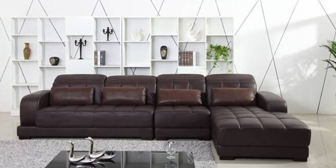 Classic Coffee Color Top Grain Leather Sofa L Shaped Sectional Sofa Set Buy Leather Sofa Top Grain Leather Sofa Leather Sofa Set