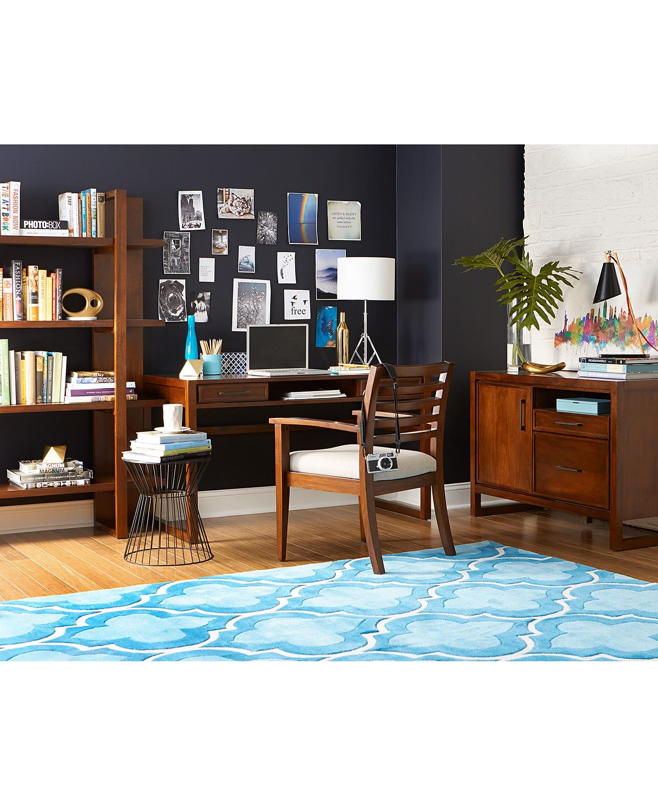 shop home office. Battery Park Home Office Open Bookcase - Shop All Living Room Furniture Macy\u0027s U