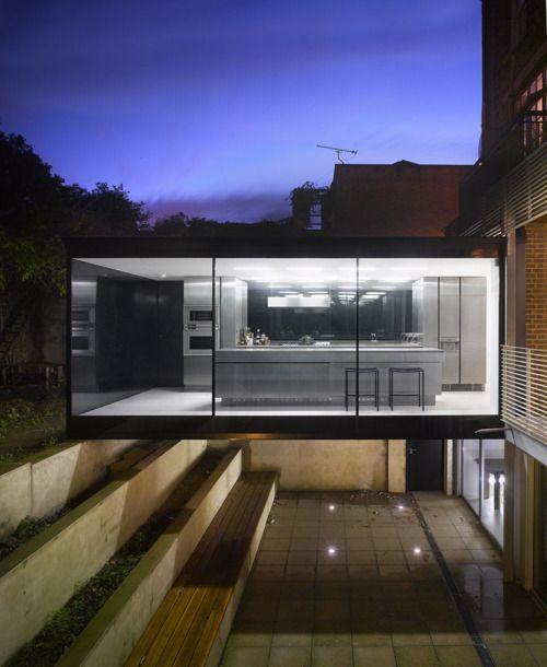 Floating kitchen anyone? - Cross Street Paul Archer Design