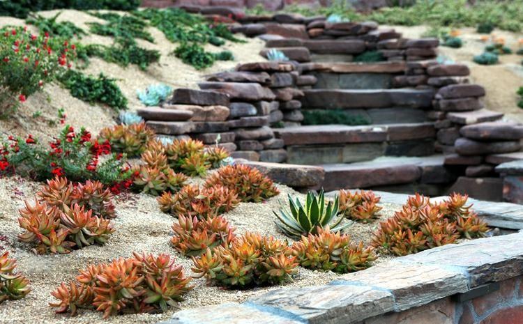 Moderne Tuinen Met Terrassen En Tribunes 50 Ontwerpen Moderne Ontwerpen Terrassen Tribunes T Japanischer Garten Rustikaler Garten Garten Landschaftsbau