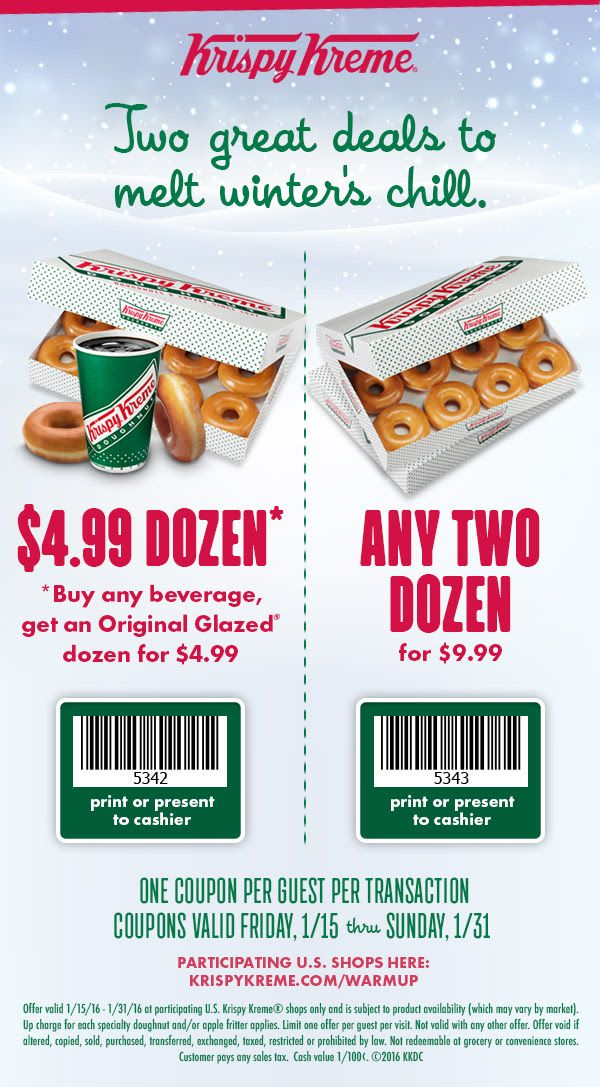 Krispy Kreme 🆓 Coupons & Shopping Deals! (With images