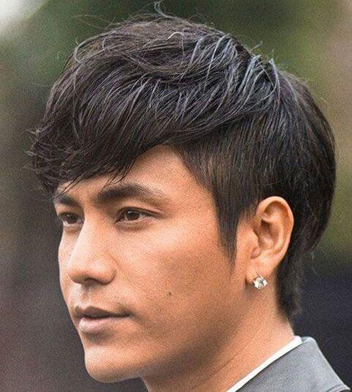 Short Sides Long Top For Asian Men