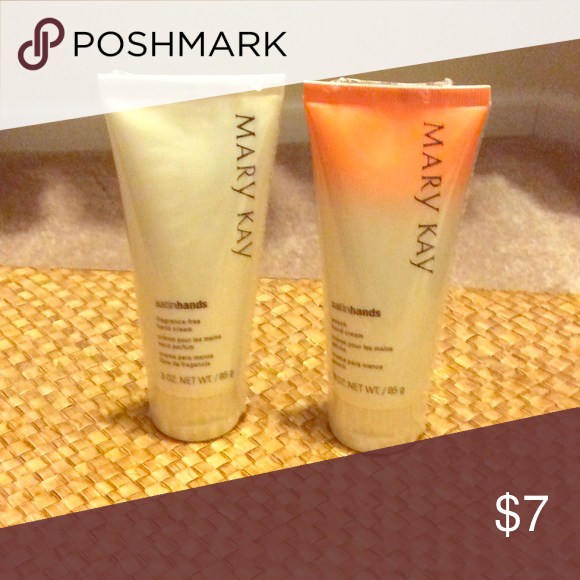 Hand cream Selling both peach and fragrance free hand creams. Mary Kay Other